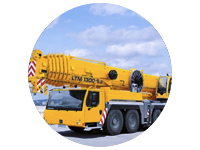 Liebherr LTM 1300 - For Rent Thunder Bay